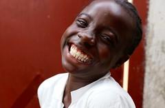 Smile of the day .. (Ferdinand Reus) Tags: africa girl beautiful smile monrovia liberia afrique