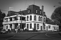 Grand Hotel, Healesville (phunnyfotos) Tags: bw building heritage architecture corner mono hotel pub nikon australia healesville monotone victoria historic yarravalley d750 vic intersection grandhotel carltondraught 1888 maroondahhighway phunnyfotos nikond750