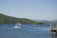 Lake Windermere (Vodka Burner) Tags: summer landscape lakedistrict cumbria lakeland lakewindermere thelakes cruiseboat tucano