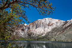 Laurel Mountain Convict Lake (www.karltonhuberphotography.com) Tags: california light lake reflection tree nature forest landscape relaxing peaceful bluesky geology wilderness tranquil rugged steep springtime easternsierra convictlake 2016 landscapephotography mountainpeak wildplaces laurelmountain geologichistory mountainface horizontalimage foregroundinterest karltonhuber