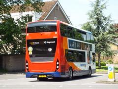 SN16 ONJ (10543) (brendan315) Tags: park bus ride wentworth 400 shuttle pr service mmc stagecoach loan parkandride enviro on onloan e400mmc 400mmc