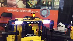 Technic Beacon Demo (brickstuff) Tags: volvo lego technic loader beacon mkii