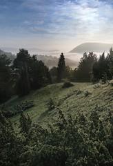 20160526-002F1 (m-klueber.de) Tags: nebel tau sonnenaufgang morgen rhn 2016 morgenstimmung bergwinkel sinntal mkbildkatalog 20160526 20160526002f1