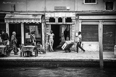 Street life (alessandrafinocchiaro67) Tags: venice monochrome blackwhite fx nikond750