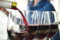 Wine glasses in the bar (Maria Eklind) Tags: glass bar se hotel sverige malm glas consert hotell skybar congresscenter clarionhotel sewden skneln fotosondag malmlive clarionmalmlive fs160529