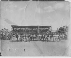 July 4, 1910, Tonopah v. Goldfield, with aircraft (dougsmi) Tags: classic baseball aircraft tonopah oldtime goldfield classicbaseball