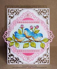 Fluffy Birdies Card 1 (Nupur Creatives) Tags: heartfelt creations heartfeltcreations