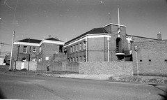 South Bank Sturt St 220 drill hall 1982  sheet 07  791 (Graeme Butler) Tags: yarra southmelbourne river industry history heritage design culture church architecture melbourne victoria australia