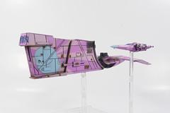 Houndstooth Repaint - Bubbie (Jay Adan) Tags: game miniatures starwars xwing starship repaint ffg