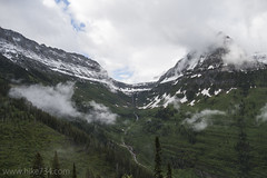 "Logan Pass and Logan Creek • <a style=""font-size:0.8em;"" href=""http://www.flickr.com/photos/63501323@N07/27121893044/"" target=""_blank"">View on Flickr</a>"