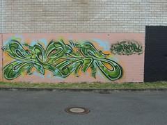 EMES (mkorsakov) Tags: wall graffiti wand colored dortmund bunt legal emes auftrag hombruch
