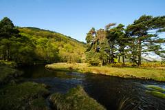 The Bend in the River (Costigano) Tags: ireland irish green nature water canon river eos spring scenery stream outdoor scenic glendalough wicklow