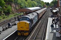 Direct Rail Services 37716 (Will Swain) Tags: station svr severn valley railway diesel gala 19th may 2016 train trains rail railways transport travel uk britain vehicle vehicles england english midlands bewdley direct services 37716 class 37 716