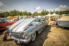 US Car Show in Lichterfeld (SiebenDeluxe) Tags: auto blue summer sky usa sun car canon us sommer himmel sigma wideangle hotrod 1020mm sonne musclecar blauer f60 weitwinkel lausitz lichterfeld