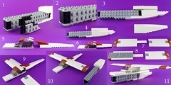 Build your own Bush Plane - Part 1 (Norweasel) Tags: plane airplane bush lego aircraft tundra floats supercub bushplane