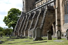 Dunfermline, Scotland (Taylor Mc) Tags: uk greatbritain history church abbey cemetery graveyard scotland ruins alba unitedkingdom fife united kingdom palace medieval historicscotland preservation dunfermline firthofforth