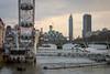 Hungerford Bridge | Busy View (James_Beard) Tags: london millenniumwheel thames londoneye hungerfordbridge canond30 millbanktower londonskyline londonlandmarks londonarchitecture stgeorgewharf canon24105 stgeorgewharftower