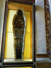 (Mitchell Lafrance) Tags: travel vacation holiday paris france louvre sarcophagus 2010