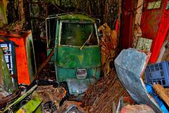 ape 50 (riccardo nassisi) Tags: auto abandoned car pc rust ruins fiat rusty scrapyard wreck scrap piacenza wrecked ruggine relitto rottame travo epave abbandonata