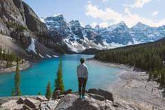 (Njla) Tags: canada nikon outdoor hiking trail banff banffnationalpark morainelake 1835 canadianrockies d600 rockiesmountains