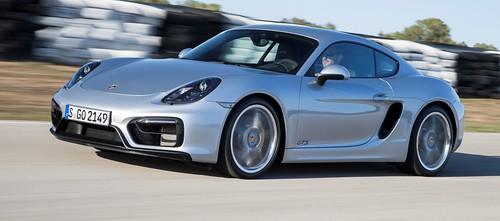 Новый Porsche Cayman GTS