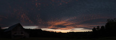 Sunset Series 3/3 (koperajoe) Tags: sunset sky weather clouds mackerel twilight newengland climate cirrocumulus westernmassachusetts altocumulus clouddeck