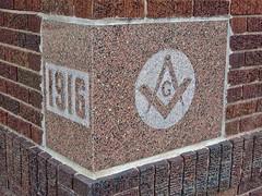 Masonic Temple, Mankato, MN (Robby Virus) Tags: minnesota temple lodge masonic masons fraternal cornerstone freemasons mankato organiation