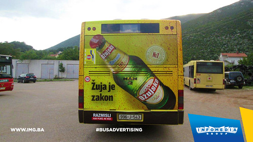 Info Media Group - Ožujsko pivo, BUS Outdoor Advertising, Mostar 05-2016 (3)