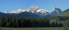 Mount Lougheed, Alberta, Canada - ICE(5)201-203 (photos by Bob V) Tags: panorama mountains rockies alberta rockymountains albertacanada lougheed canadianrockies mtlougheed mountainpanorama mountlougheed