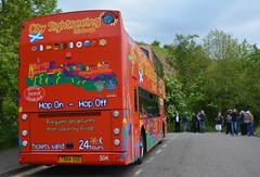 504 (Callum's Buses & Stuff) Tags: bus buses edinburgh tour open top dennis tours lothian trident lothianbuses plaxton edinburghbus alx400 citysightseeing edinburghtour busesedinburgh buseslothianbuses