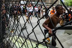 DSCF5420 (john fullard) Tags: park street city nyc bridge urban newyork color fence manhattan candid may competition skate 2016