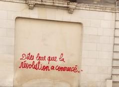 IMG_20160410_171036 (Cocomilie) Tags: wall graffiti tags anarchism slogan nantes manifestation punchline loitravail