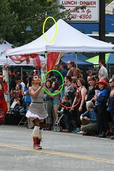 Fremont Solstice 2016  2407 (khaufle) Tags: solstice fremont wa usa hulahoop juggling parade