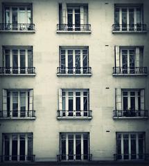 4 x 3 (Rino Alessandrini) Tags: urbano periferia condominio finestre facciata vicinidicasa geometria simmetria architettura palazzo abitazione urban suburban apartment building facade windows neighbors geometry symmetry architecture house