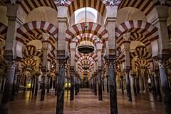 Mezquita de Crdoba (ribadeluis) Tags: andaluca arquitectura catedral mezquita gran angular crdoba canonef2470mmf28lusm antiguo arcos columnas eos6d alndalus canoneos6d