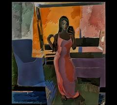 selfie (skizo39) Tags: woman art colors collage photomanipulation design colorful graphic digitalpainting layers graphical digitalmanipulation selfie