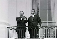 BE021833 (ngao5) Tags: two people usa house male history smiling washingtondc european balcony whitehouse presidential communist american soviet northamerica leader mansion russian twopeople richardnixon dwelling facialexpression midatlantic northamerican leonidbrezhnev officialresidence presidentspark caucasianethnicity easterneuropeandescent easterneuropeanculture