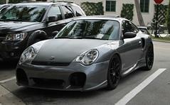TechArt GTstreet (RudeDude2140a) Tags: sports car grey 911 exotic turbo porsche coupe supercar 996 techart gtstreet