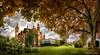 Palacio de Schwerin, Pomerania, Alemania (dleiva) Tags: travel panorama castle germany garden deutschland jardin palace alemania domingo castillo palacio leiva dleiva