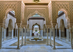 The Moroccan Pavilion (Fazar Photography) Tags: fountain architecture buildings nikon malaysia d750 putrajaya moroccan islamic