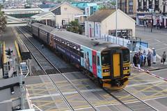 153333 (matty10120) Tags: dog train box railway class devon paignton 153 sprinter