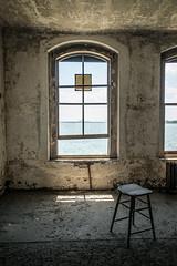 Ghost of Ellis (George Corbin) Tags: nyc newyork abandoned hospital ellis ruin immigration immigrant ellisisland urbex georgecorbin