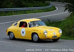 DSC_6607 - Fiat Abarth 1000 Record Monza - 1960 - Brondi Claudio (pietroz) Tags: silver photo foto photos flag historic fotos pietro storico zoccola 21 storiche vernasca pietroz