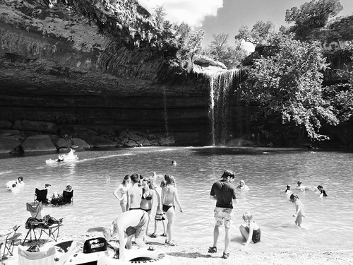 Hamilton Pool Waterfall - near Austin, Texas