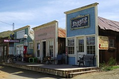 Randsburg, California (Larry Myhre) Tags: california buildings ghosttown storefronts falsefront randsburg desertghosts
