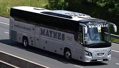 K60GSM  Maynes, Buckie (highlandreiver) Tags: 2 bus scotland coach scottish cumbria carlisle m6 coaches gsm futura buckie vdl k60 maynes wreay k60gsm