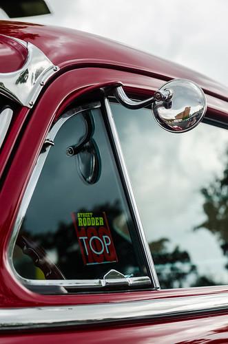 Street Rodder Top 100 (GmanViz) Tags: door roof color detail chevrolet window car vent mirror nikon automobile chrome custom 1949 fleetline gmanviz d7000
