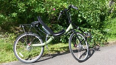 Cruzbike QX100 leaning left (gunnsteinlye) Tags: bicycle norway quest recumbent skien cruzbike