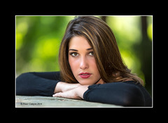 Juliana - Portrait (Peter Camyre) Tags: park summer portrait color beautiful face look canon hair lens photography photo model northampton flickr pretty photographer photoshoot image bokeh outdoor expression massachusetts picture peter portraiture friendly stare pete 5d casual brunette juliana glamor groups femal mkiii camyre ef70200lf28isiiusm