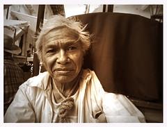 Seor con corbata de cuerda (Cuetzalan) (Harry Szpilmann) Tags: street portrait people man monochrome mexico retrato streetphotography mexican mexique mexicano hombre homme cuetzalan mexicain